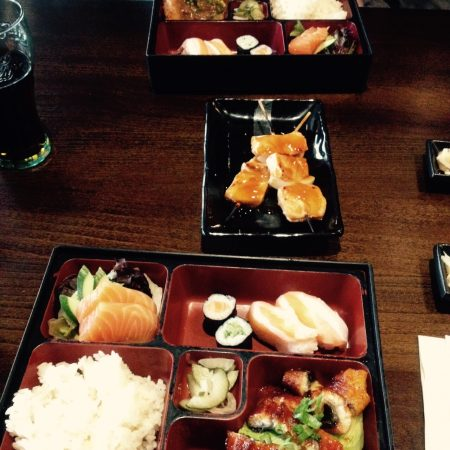 St Sushi Newcastle bento boxes