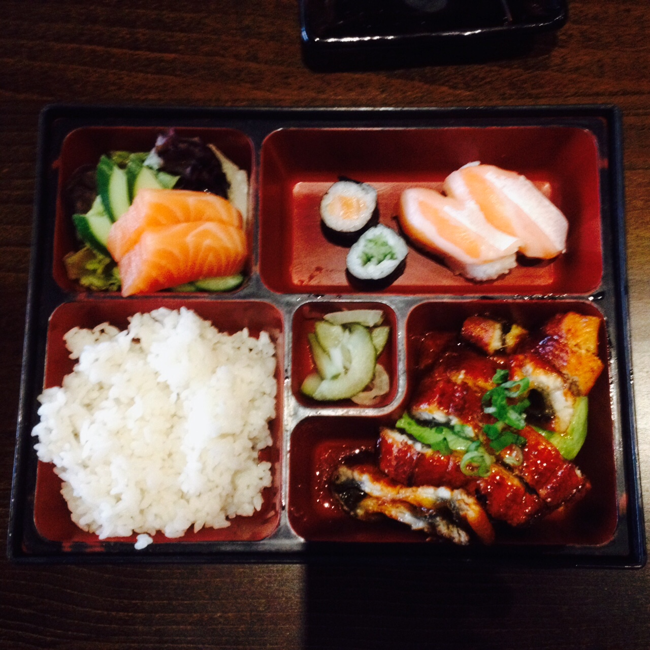 My Unagi (eel!) bento box