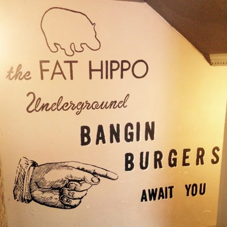 Fat Hippo wall