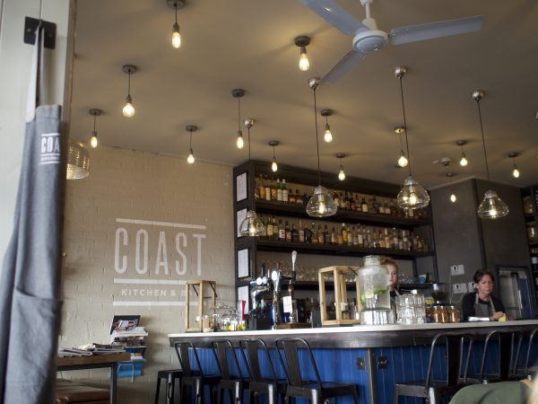 Coast Bar & Kitchen Interior