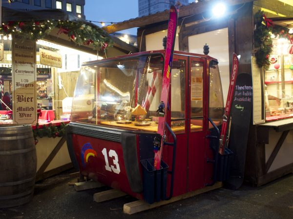 The UK's smallest restaurant