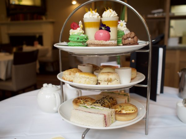 Cake stand afternoon tea
